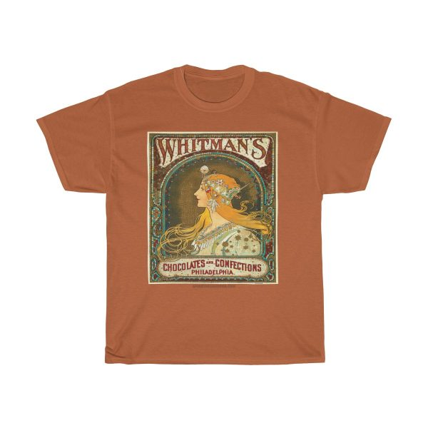 Whitmans-Chocolate-Vintage-retro-tshirt-cool-gift