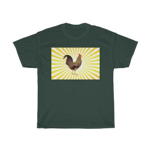 funky-cool-Vintage-Rooster-T-Shirt-gift