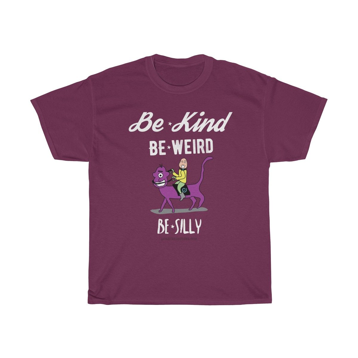 be-kind-be-weird-be-silly-tshirt-random-cool-unique-purple