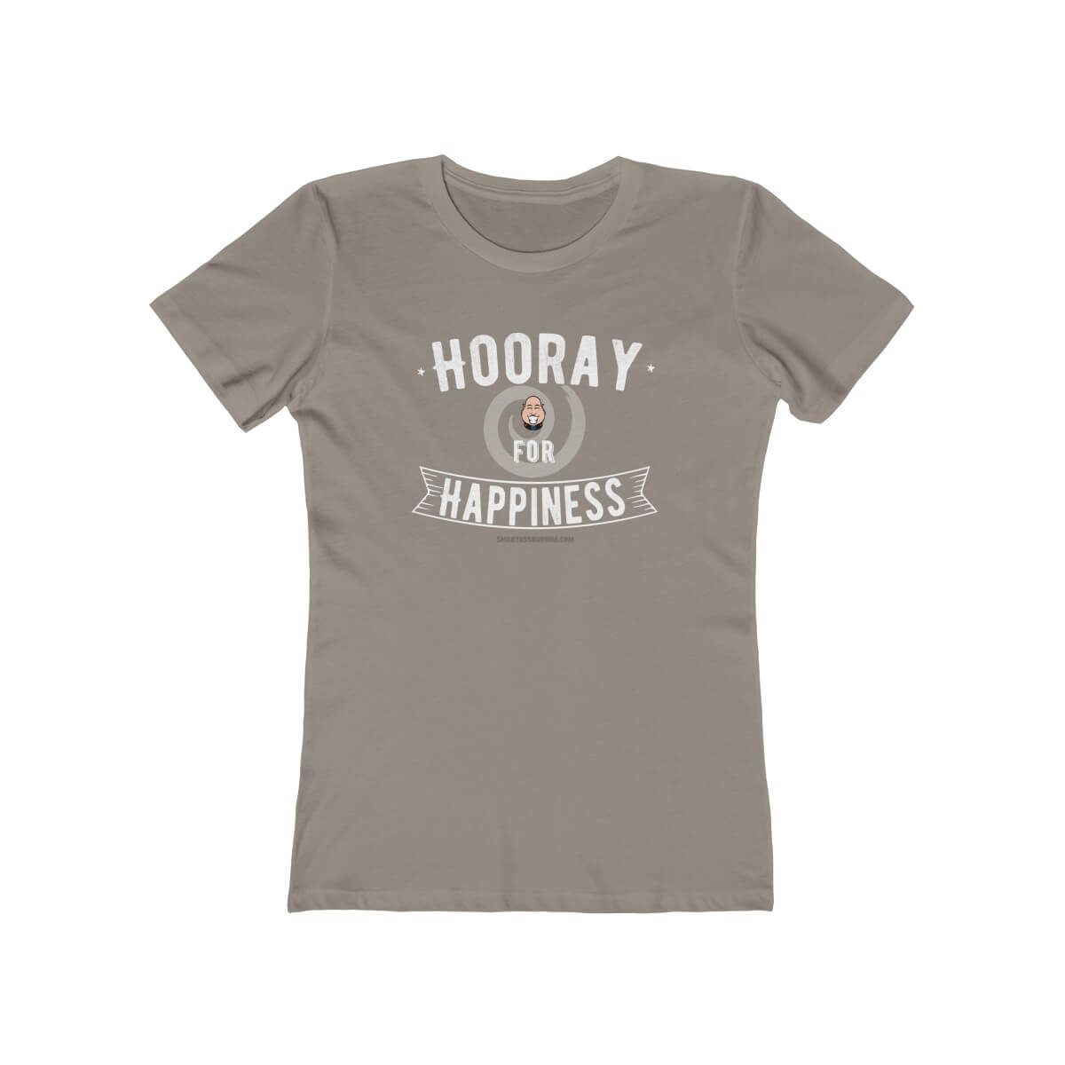 hooray-for-happiness-gratitude-tshirt-with-sayings-for-women-cool-gift-unique-grey